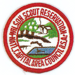 Woodrow Wilson Scout Reservation Patch - 1960's