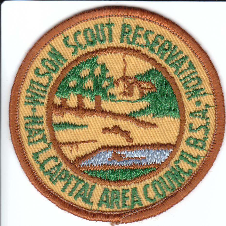 Woodrow Wilson Scout Reservation Patch - 1950's