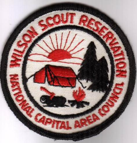 Woodrow Wilson Scout Reservation Patch - 1960 - 1970's